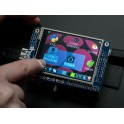 "PiTFT - Assembled 320x240 2.8"" TFT+Touchscreen for Raspberry Pi"