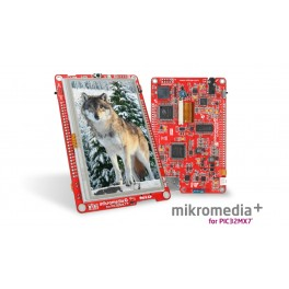 Mikromedia Plus For PIC32MX7